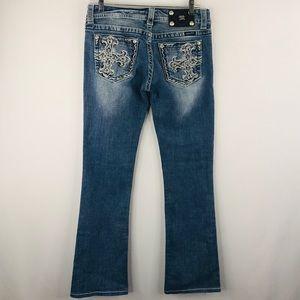 Miss me denim boot cut jeans SZ 28